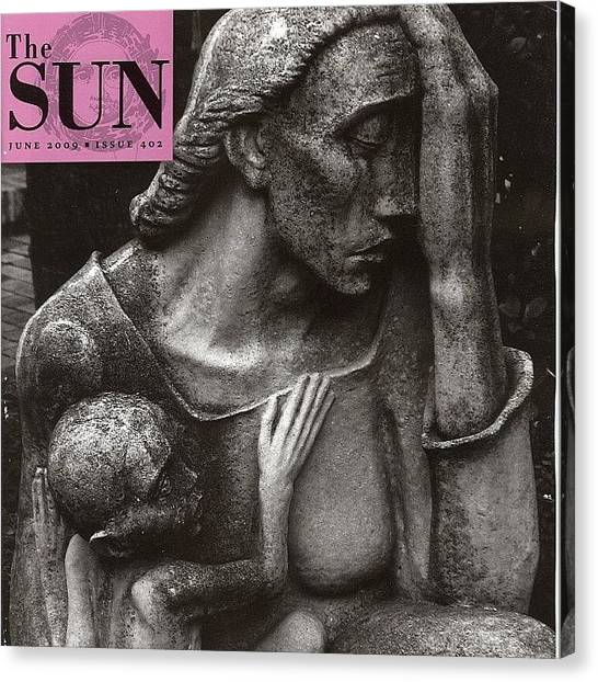 Sculptors Canvas Print - My Cover June 2009 The by Gia Marie Houck