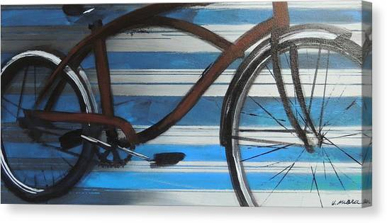 My Cruiser Canvas Print by Vivian Mora