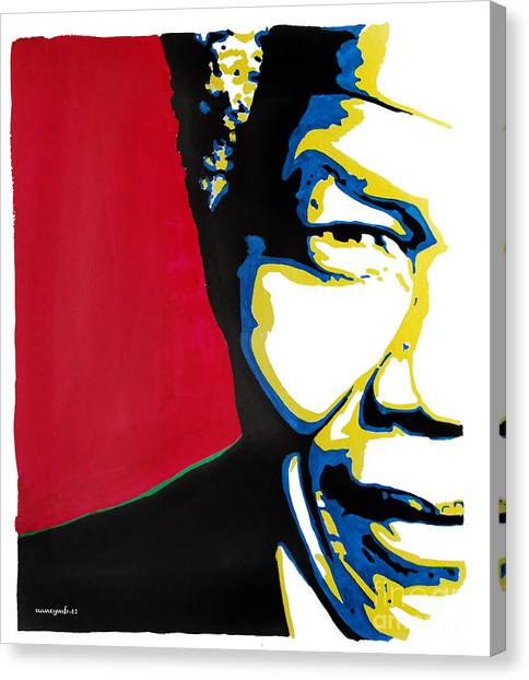 My Dear Nelson Mandela Canvas Print