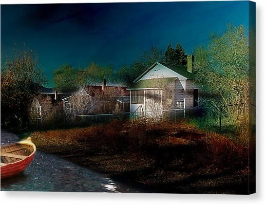 My Dream House Canvas Print