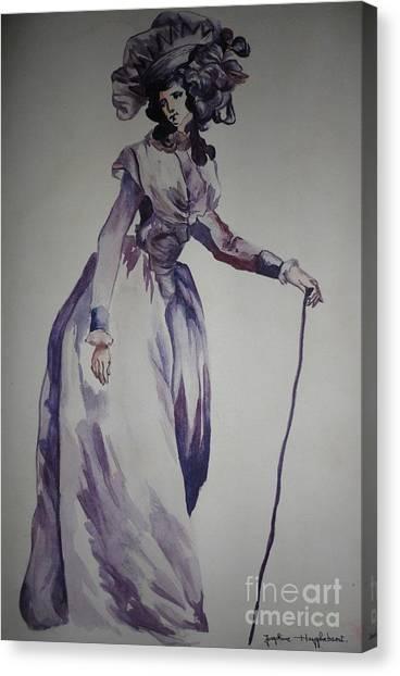 Impartial Canvas Print - My Fair Lady by PainterArtist FIN