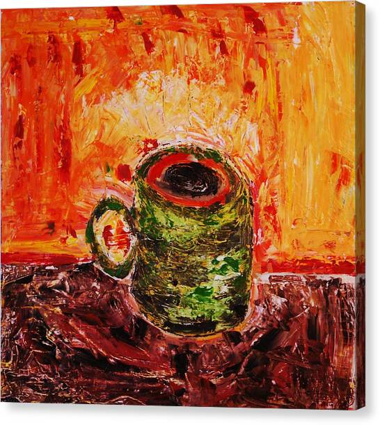 My Favorite Cup Canvas Print by Ian  Fruehauf