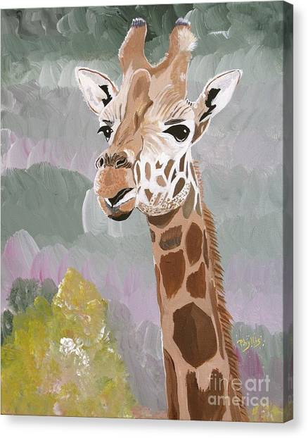 My Favorite Giraffe Canvas Print