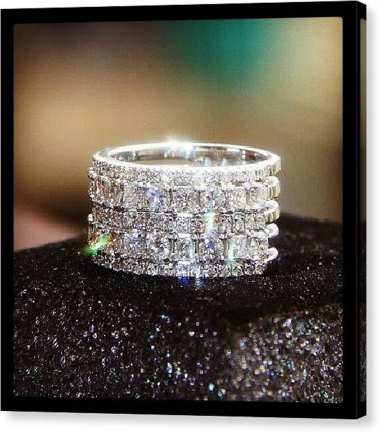 Bats Canvas Print - My Fiance Engagement Ring @ranimbaba by Moe Bat