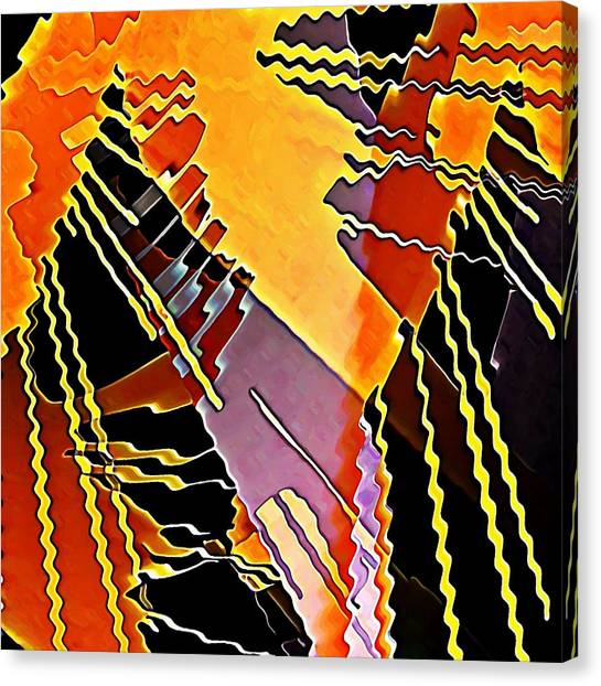 My Fission Electric Canvas Print