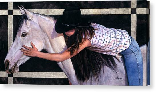 My Girl Canvas Print by JK Dooley