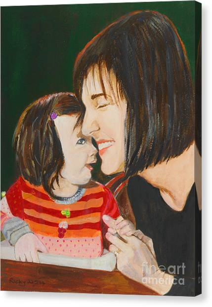 My Girl - Painting Canvas Print