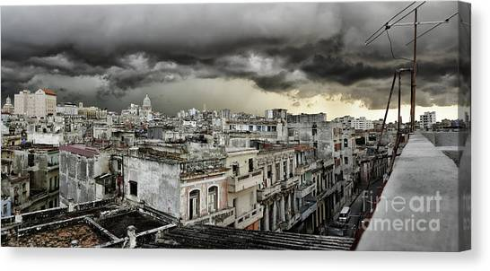 My Havana Roof Canvas Print