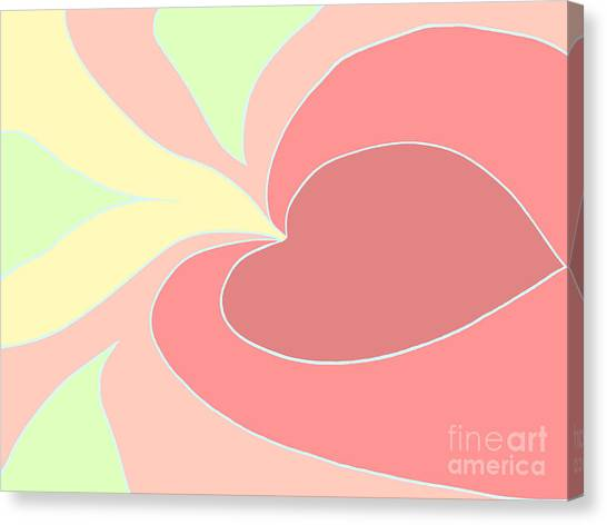 My Heart To You Canvas Print