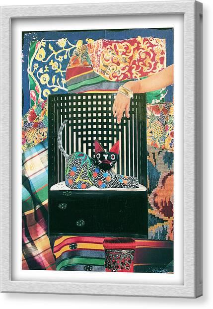 My Heinz 57 Canvas Print by Eve Riser Roberts
