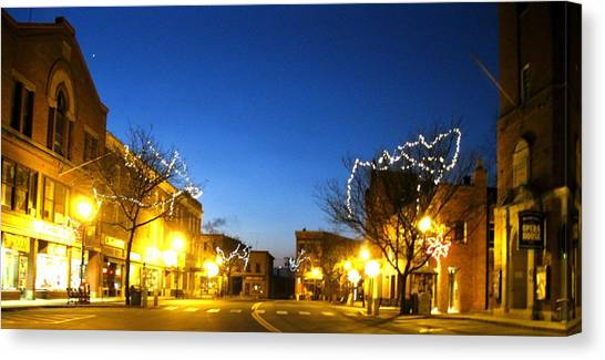My Home Town 2 Canvas Print by Will Boutin Photos