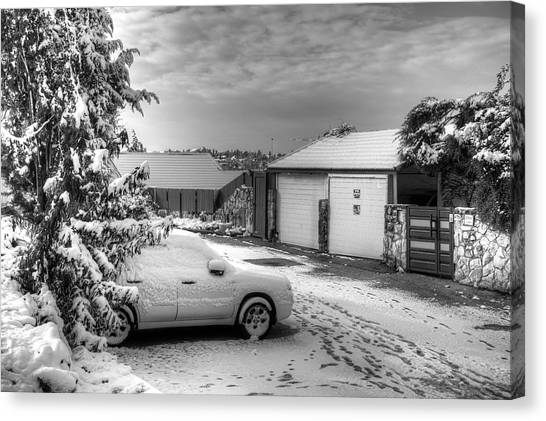My Home Town - Winter 2015 Canvas Print