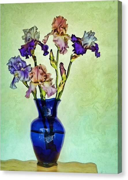 My Iris Vincent's Genius Canvas Print