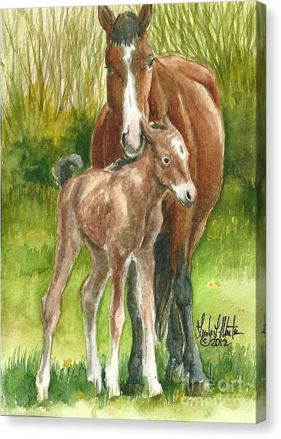 My Little One Canvas Print