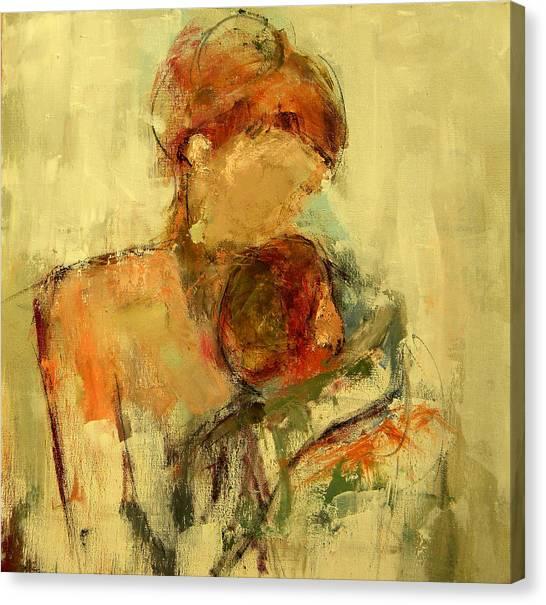 Figure Canvas Print - My Love by Lisa Moore