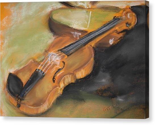 My Lttle Violin Canvas Print