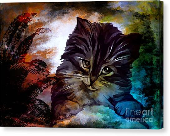 My Name Is Goliath. Canvas Print
