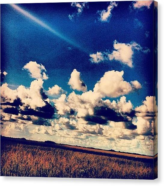 Everglades Canvas Print - My #neverending #supplies Of #clouds by Shawn Who