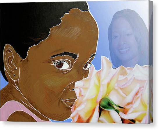 My Pink Rose Canvas Print