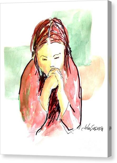 My Prayer Canvas Print