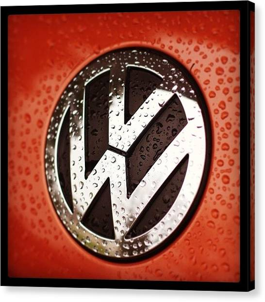 Germany Canvas Print - Red Rock Edition Beetle by Heidi Hermes