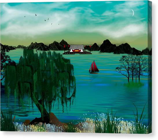 My Secret Hideaway Canvas Print