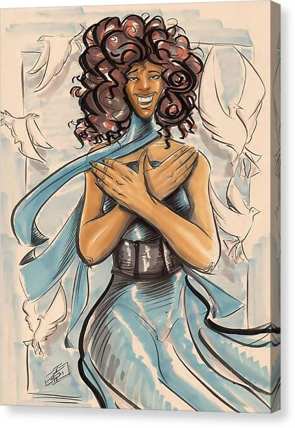 My Soror Canvas Print