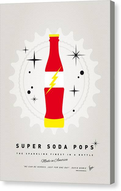 Flash Canvas Print - My Super Soda Pops No-18 by Chungkong Art