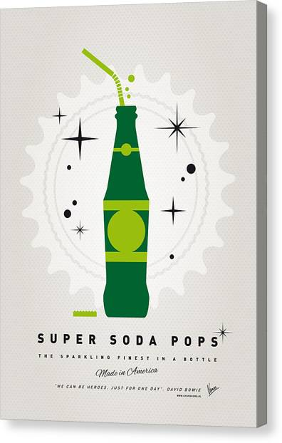 Avengers Canvas Print - My Super Soda Pops No-20 by Chungkong Art