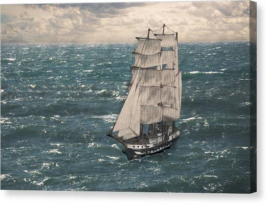 My Tall Ship Canvas Print