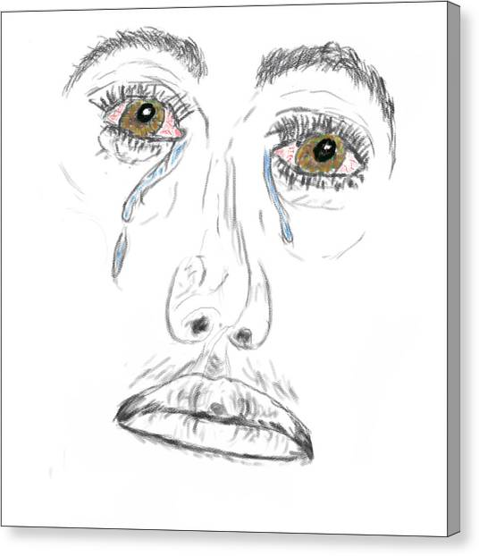 My Tears Canvas Print