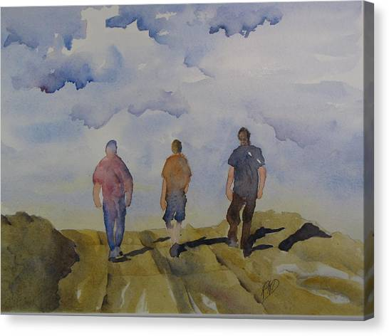 My Three Boys Canvas Print by Ramona Kraemer-Dobson