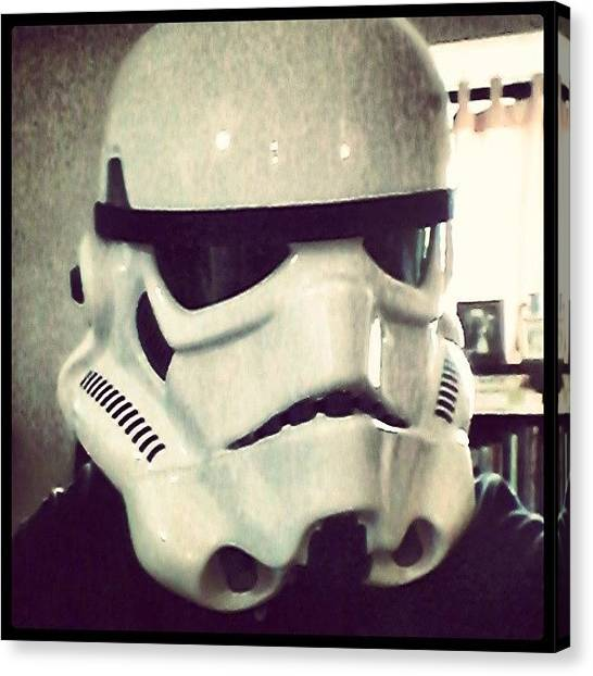 Stormtrooper Canvas Print - My Very Own #efx #starwars by Oliver Kuy