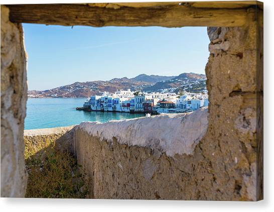 Mykonos Island, Greece Canvas Print