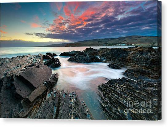 Myponga Beach Sunrise Canvas Print