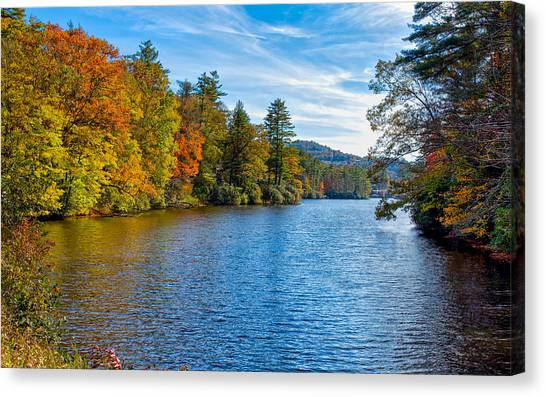 Myriad Colors Of Nature Canvas Print