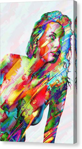 Myriad Of Colors Canvas Print