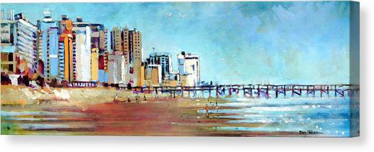 Myrtle Beach Morning Canvas Print