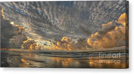Myrtle Beach Panorama 2 Canvas Print