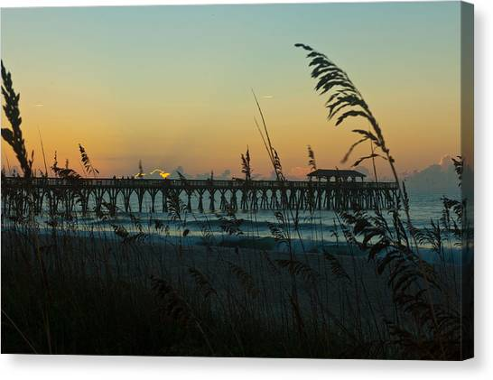 Myrtle Beach Sunrise Canvas Print