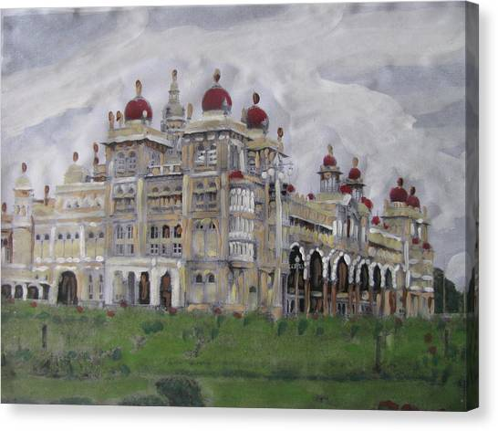 Mysore Palace Canvas Print by Vikram Singh