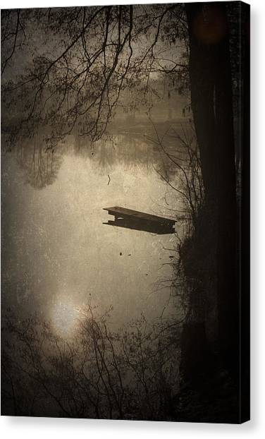 Mysterious Morning Canvas Print