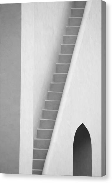 Mysterious Staircase Canvas Print