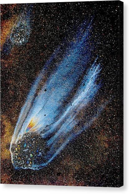 Mysterious Traveler Canvas Print