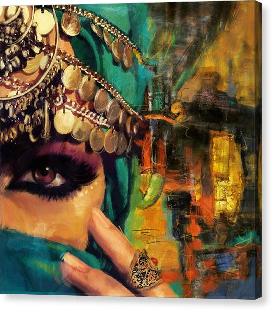 Muslim Canvas Print - Mystery by Corporate Art Task Force