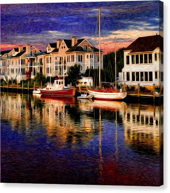 Mystic Ct Canvas Print