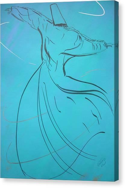 Mystic Dancer Parinda Canvas Print