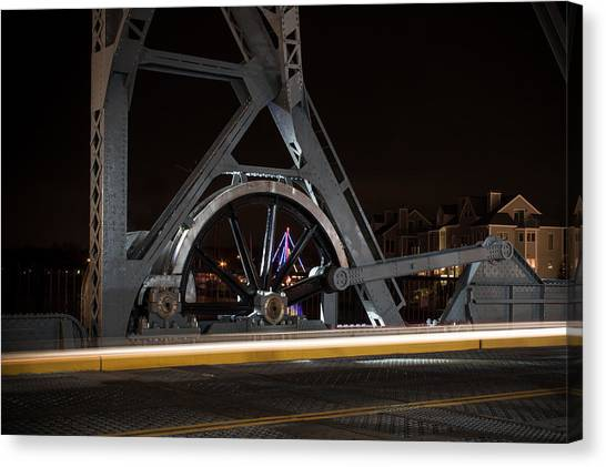 Mystic Drawbridge Linkage Canvas Print