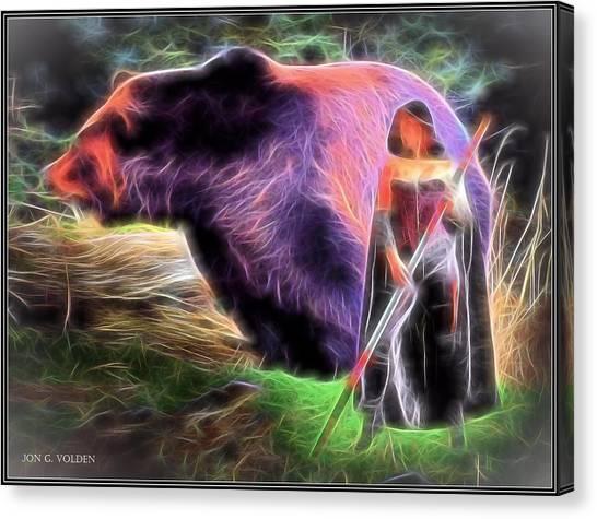 Mystic Druid Canvas Print