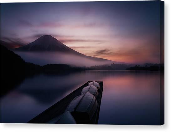 Mount Fuji Canvas Print - Mystic Fuji by Gerald Macua